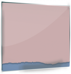 Panel szklany do kuchni - Rip paper. Rose quarts and serenity colors. Vector illustration.